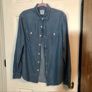America Eagle Button Up Shirt
